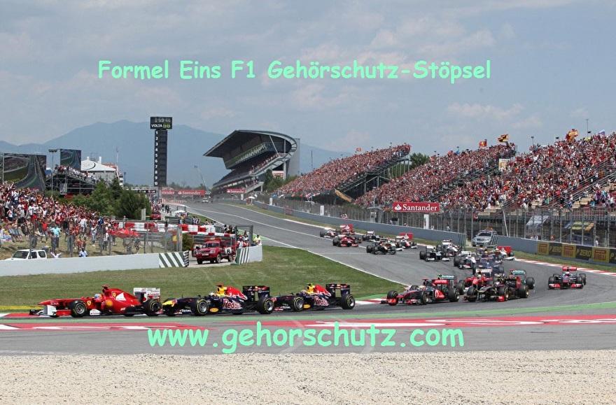Formel-eins-F1-gehörschutz-stöpsel