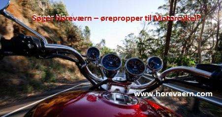 Høreværn - ørepropper Motorcykel