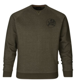 Seeland Key-point Sweatshirt Pine Green heren trui