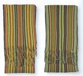 Skogen gestreepte sjaal