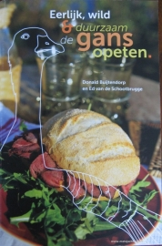 Informatief kookboek Eerlijk, wild en duurzaam de gans opeten van Donald Buijtendorp