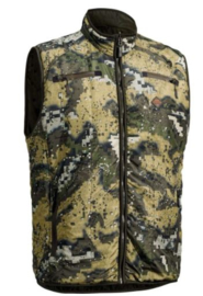 Swedteam Terra Light Pro Veil Desolve camouflage bodywarmer