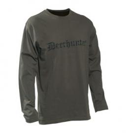 Deerhunter Logo T-shirt lange mouwen
