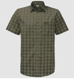 Jack Wolfskin Hot Springs shirt heren overhemd korte mouw