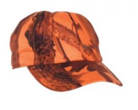 Deerhunter Cumberland Cap w. Neck Cover oranje camouflage pet