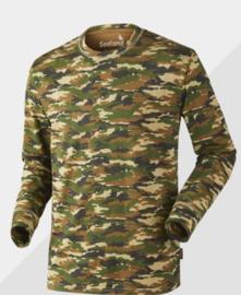 Seeland Speckled Long Sleeve Shirt maat M