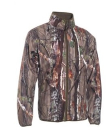Deerhunter Gamekeeper reversible fleece jacket 5526 camouflage naar groen