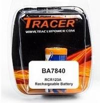 Tracer BA7840 oplaadbare batterij RCR123A