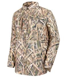 Stagunt Bicho shirt grass blades camouflage overhemd