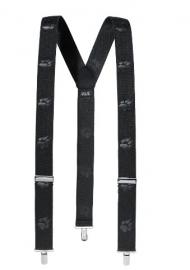 Jack Wolfskin Suspenders bretels met hondenpootjes