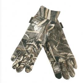 Deerhunter MAX-5 camouflage handschoenen met siliconen dots