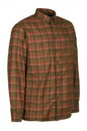 Deerhunter Marcos Red check Shirt heren overhemd
