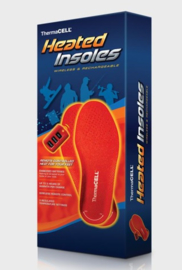 Thermacell heated insoles wireless voet zolen Maat XL (43-45)