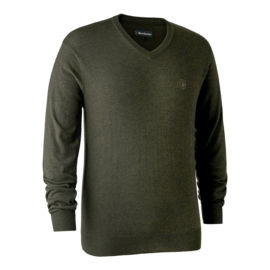 Deerhunter Kingston Knit  V-neck Heren V-hals trui
