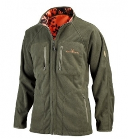 Hubertus reversible fleece jas