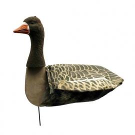 Sillosocks lokkers Pink Foot/Grey Lag Goose Head Up grauwe gans kijkend 12 stuks