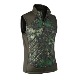 Deerhunter Quilted Waistcoat camouflage heren bodywarmer