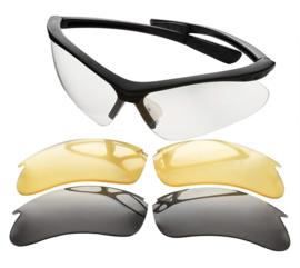 Champion Ballistic schietbril met verwisselbare glazen