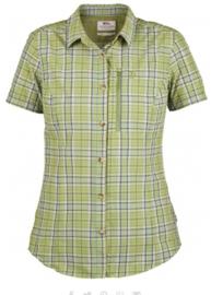 Fjällräven Abisko Hike shirt SS dames geruite blouse korte mouw