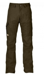 Fjällräven Karl trousers heren broek dark olive maat 60