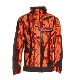 Deerhunter Cumberland ACT jacket (5671) oranje camouflage jas