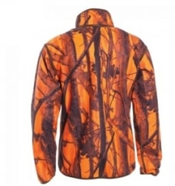 Deerhunter Gamekeeper reversible fleece jacket 5526 oranje camo naar groen