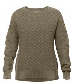Fjällräven Sörmland Roundneck Sweater Taupe L damestrui