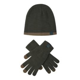 Deerhunter Hat and Gloves set muts met handschoenen