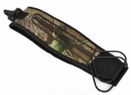 Camouflage wilddrager voor over de schouder