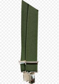 Seeland Braces groene bretels met clips