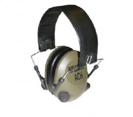 Elektronische platte oorkappen