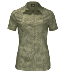 Jack Wolfskin Sonora Jungle dames blouse