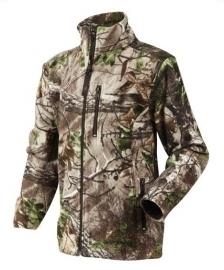 Seeland Coby camouflage kinder fleece vest