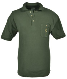 Hubertus Polo shirt met geborduurde eend op borstzak