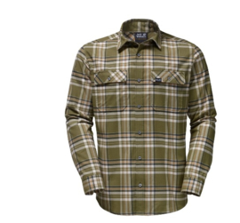 Jack Wolfskin Valley heren overhemd