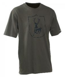 Deerhunter hert logo t-shirt korte mouw