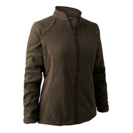 Deerhunter Lady Josephine fleece w. membrane dames fleecevest