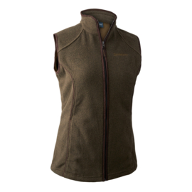 Deerhunter Lady Josephine fleece waistcoat dames fleece bodywarmer
