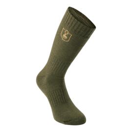 Deerhunter 2-pack Wool Socks wollen sokken kort en lang