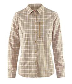 Fjällräven Abisko Hike shirt LS dames geruite blouse lange mouw