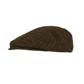 DXO by Deerhunter Beaulieu tweed flat cap