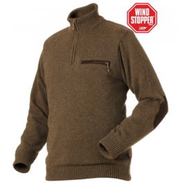 Härkila Byrne Jersey Soil Brown herentrui maat XL