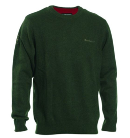 Deerhunter Hastings o-neck green trui met ronde hals