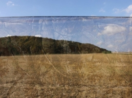 Nylon camouflagenet clear view Wetland (per meter)