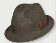 Skogen Trilby dames hoed