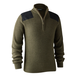 Deerhunter Rogaland Knit  with Zip Neck herentrui
