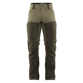 Fjällräven Keb Gaiter Trousers Deep Forest Laurel Green herenbroek