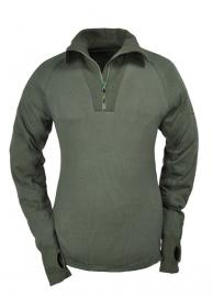 Thermo function TS400 shirt met kol en ritssluiting