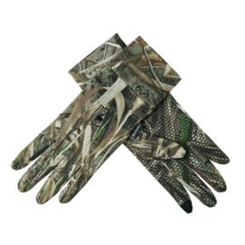 Deerhunter MAX 5 Gloves w Silicone Dots camouflage handschoenen