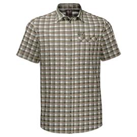 Jack Wolfskin Napo River shirt heren overhemd korte mouw
